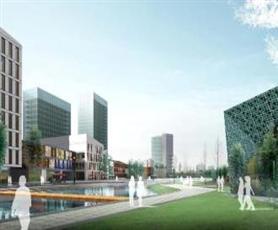 上海嘉定新城东云街商业街